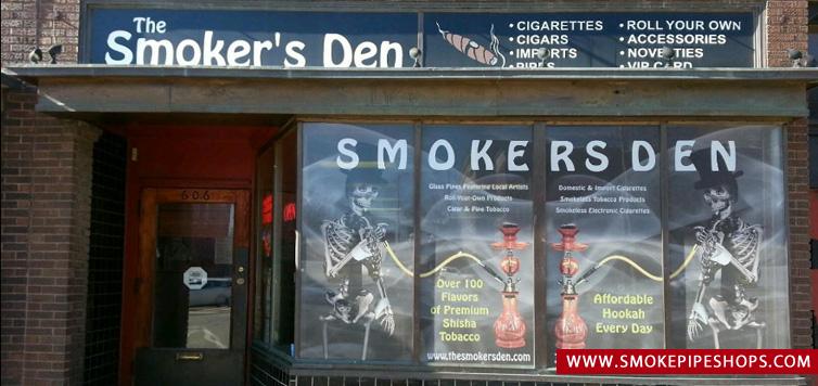 The Smoker's Den Bloomington Illinois United States Smoke Pipe Shops