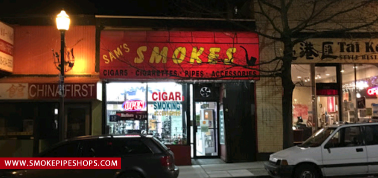 sam smoke shop