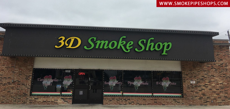 3D Smoke Shop Arlington
