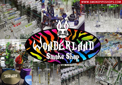 Wonderland Smoke Shop- Brick