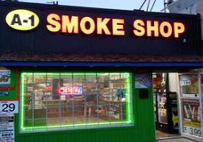 A1 Smoke Shop Traffic Circle