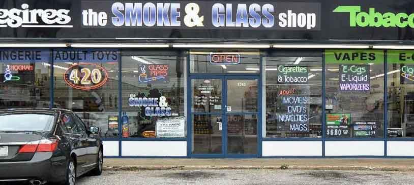 the Smoke and Glass Shop